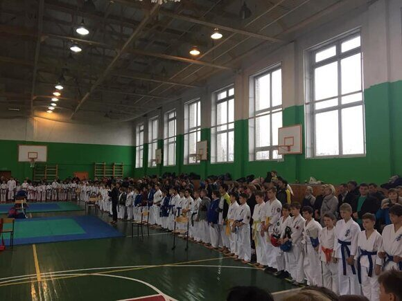 Karate uechi ryu team kumite